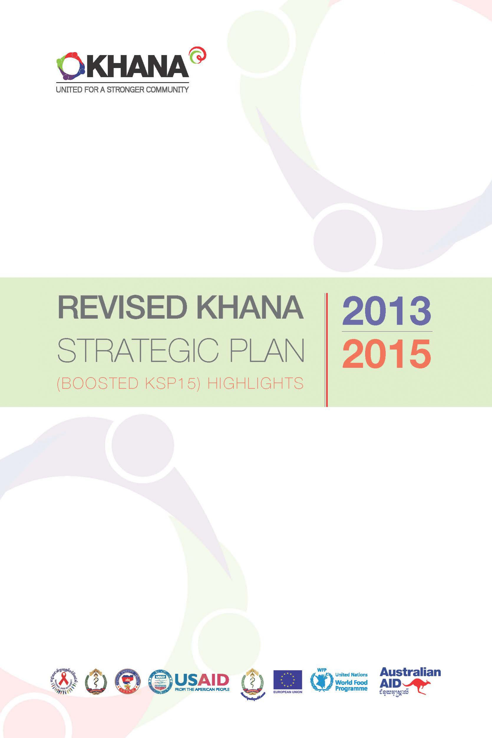 Revised KHANA Strategic Plan