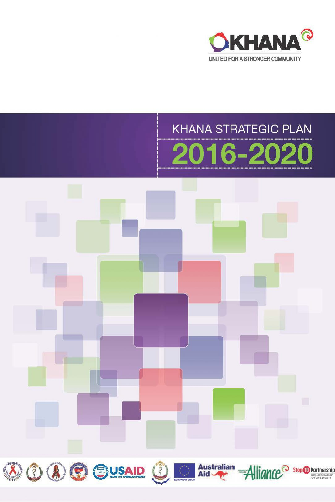 KHANA Strategic Plan 2016-2020
