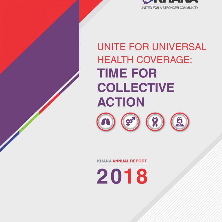 KHANA Annual Report 2018